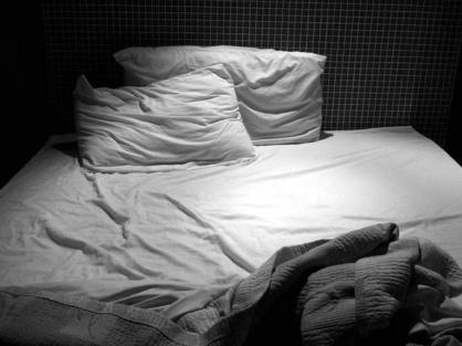 cama vacía